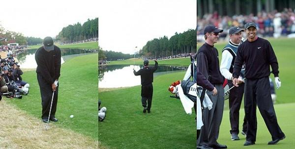 タイガー・ウッズがゴルフ界にも...
