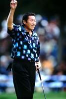 2002年全日空オープン優勝時の尾崎将司