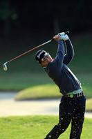 デビュー戦で予選突破を確実とした香妻陣一朗 つるやオープンゴルフトーナメント(2013)(2日目)