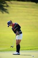宮城のファンの前で成長した姿を見せたい宮里藍 ミヤギテレビ杯ダンロップ女子オープンゴルフトーナメント(2013)(1日目) 写真・佐々木啓