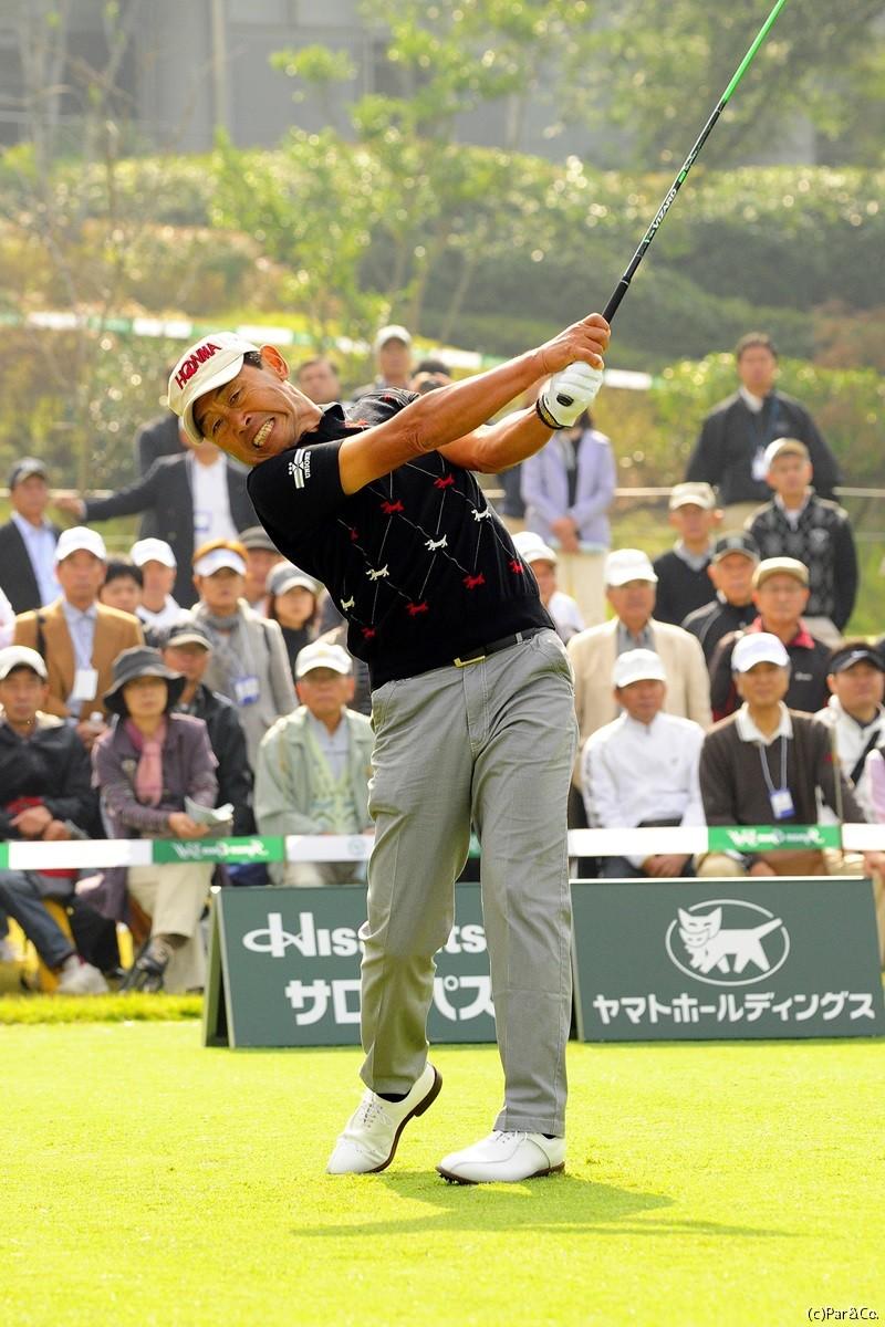 高橋勝成 日本シニアオープン(2013)(3日目) 写真・鈴木健夫   日本シニアオープンゴルフ