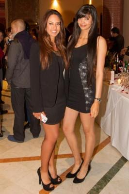 マハ・ハディウィとサミラ・ニコレット(写真左から) 写真・欧州女子ツアー