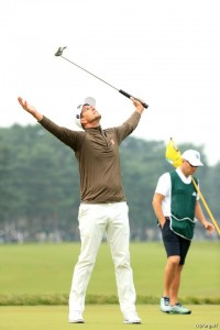 アダム・スコット 日本オープンゴルフ選手権(2016)(2日目) 写真・鈴木祥