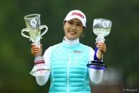 キム ハヌル LPGAツアーチャンピオンシップリコーカップ(2016)(最終日) 写真・村上航