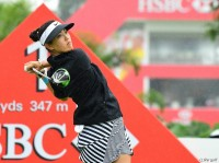 ウィー、3季ぶりの勝利を挙げられるか!? HSBC女子チャンピオンズ(2017)(3日目) 写真・上山敬太