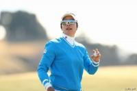 森田理香子 ヨコハマタイヤゴルフトーナメント PRGRレディスカップ(2017年)(2日目) 写真・村上航
