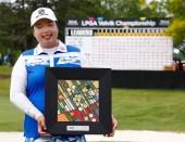 今季初優勝を飾ったフォン・シャンシャン LPGAボルビック選手権(2017)(最終日) 写真・Getty Images