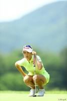 単独首位に立ったキム ハヌル サントリーレディスオープンゴルフトーナメント(2017)(3日目) 写真・村上航