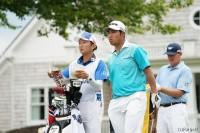 松山、最高の位置で大会を折り返すことができそうだ 全米プロゴルフ選手権(2017)(2日目) 写真・岩本芳弘