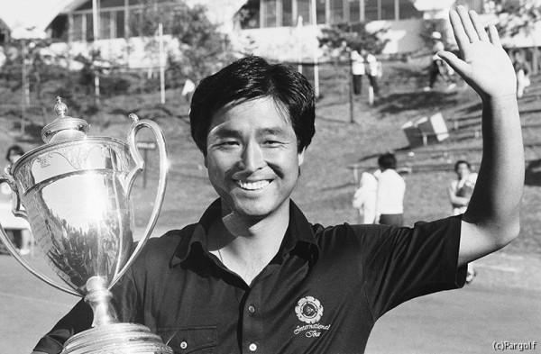 1980年、プロ10年目に日本プロを初めて制した