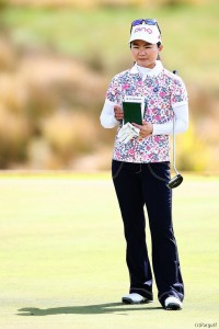 81位タイのスタートに厳しい表情の上原 マッケイソン・ニュージーランド女子オープン(2017)(初日) 写真・GettyImages