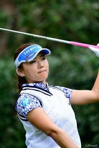 有村智恵 日本女子オープンゴルフ選手権競技(2017)(3日目) 写真・上山敬太
