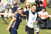 吉田弓美子、鮮やかな逆転Vでツアー通算7勝目を飾った スタンレーレディスゴルフトーナメント(2017)(最終日) 写真・佐々木啓