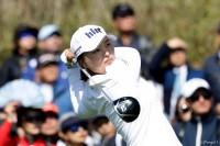 地元・韓国でツアー初勝利を果たしたコ・ジンヨン LPGA KEBハナバンク選手権(2017)(最終日) 写真・Getty Images