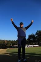 宮里優作、37歳にして初の賞金王に輝いた ゴルフ日本シリーズJTカップ(2017)(最終日) 写真・鈴木祥