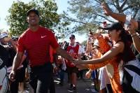 多くのファンが待ち望んでいたウッズの復帰。マスターズに照準を合わせて調整を続けるという 写真・Getty Images