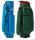 9型と7型の二つのタイプの、軽量のナイロンツイル素材採用の定番キャディバッグ