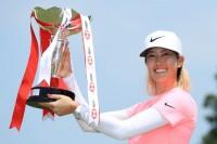 4年ぶり優勝のミッシェル・ウィー HSBC女子世界選手権(2018)(最終日) 写真・Getty Images