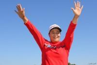 延長戦を制し、今季初勝利を挙げたアン・ソンジュ ヨコハマタイヤゴルフトーナメント PRGRレディスカップ(2018)(最終日) 写真・佐々木啓