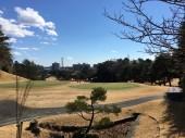 コースから見下ろせる美しい街並み。関東近郊では多摩CCがナンバー1かもしれない