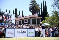 ギャラリーの獲得が課題の米LPGAツアー。ヒューゲル-JTBCロサンゼルスオープンは立地のよさもあり韓国人ギャラリーを集めた 写真・Getty Images