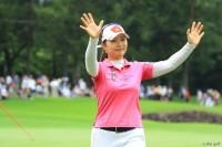 貫禄のプレーで今季2勝目を飾った黄アルム NEC軽井沢72ゴルフトーナメント(2018)(最終日) 写真・米山聡明